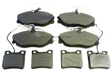 PEUGEOT 607 2.0 2.2 2.2 HDI 2000-2005 FRONT & REAR BRAKE DISC PADS NEW FULL SET
