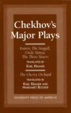Chekhov's Major Plays: Ivanov, The Seagull, Uncle Vanya, The Three Sis-ExLibrary