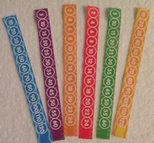 New Skip Counting 2's 5's 10's Reminder Bracelets Kids Homeschool Free Shipping