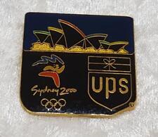 UPS SOCOG SYDNEY 2000 OLYMPIC PIN OPERA HOUSE & UPS SPONSOR PARCEL PIN