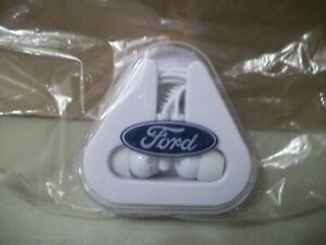 Ford Motor Co. Ear Buds with Case Factory NIP