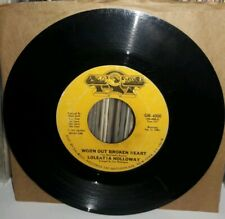 Loleatta Holloway - Worn Out Broken Heart b/w Dreamin' - G+ 45- 1976 Gold Mind
