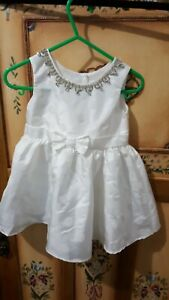 Stunning ORIGAMI girls special occasion dress with diamonti neckline (size 0)