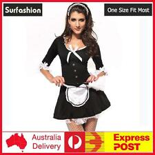 Sexy Adult Halloween French Victorian Maid Costume M / L size #8530