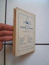 JACQUETTE LES ALBUMS DE TINTIN /  LA COMTESSE DE SEGUR / DILOY LE CHEMINEAU