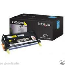 Lexmark Genuine X560A2YG YELLOW Toner Cartridge for X560N