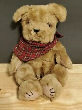 Boyds Bears Plush Simon T Poochley Fabric Puppy Dog Jointed 5405208