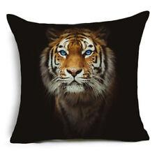Cover Pillow Case Tiger Strong Cushion Decor Home Polyester Sofa Animals Throw