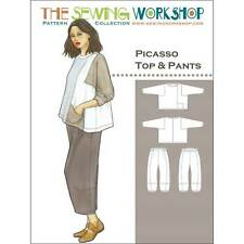 """The Sewing Work Shop """"Picasso Top & Pants"""" Sewing Pattern"""