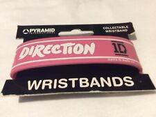 One Direction 1D rubber wristband in pink