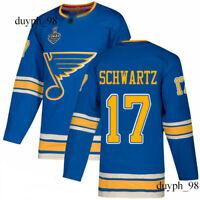 St. Louis Blues #17 Jaden Schwartz Jersey 2019 Stanley Cup Final Bound Stitched