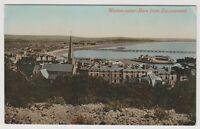 Somerset postcard - Weston Super Mare from Encampment - RP - P/U