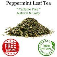 Peppermint Leaf Cut Tea - Pure & Natural Healthy & Tasty No Caffeine Loose Tea