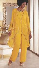 plus size 18W Ashro Formal Yasia Pant Set Suit Beaded 3-Piece Suit new