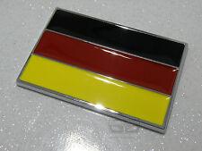 Drapeau allemand Voiture de course badge VW Golf GTI RS4 BMW 3 5 Série Audi Rétro Classique