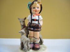 Little Goat Herder Hummel Goebel Germany Membership Figurines Mint Condition!