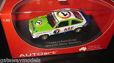 BIANTE 1/43 HOLDEN LX TORANA SS A9X  1979 ATCC WINNER BOB MORRIS #7 AUTOart