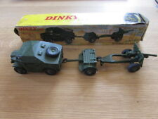 Dinky Toys 25 Pounder Field Gun Set Boxed number 697