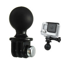Portable RAM Mount Tripod Ball Adapter Head For GoPro Hero 1 2 3 3+ 4 Camera Pop
