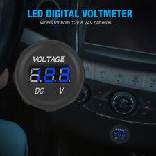 New Listingfor Car Motorcycle 12v Digital Led Display Voltmeter Voltage Gauge Panel Meter