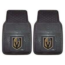 """Fan Mats NHL - Vegas Golden Knights 2-pc Vinyl Car Mats 17""""x27"""" 22901"""