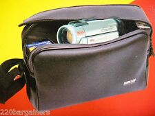 NEW Universal Travel Camcorder / Camera Carrying Case Shoulder Bag W/Arm St