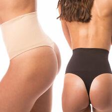 High Waist Slim Body Shaper Pants Tummy Control Underwear shapewear Briefs Thong