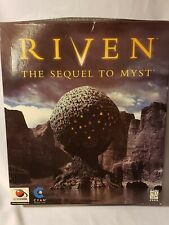 Riven: The Sequel to Myst (Windows/Mac, 1997) Vintage PC game