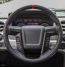 09-14 Ford F150 Molded Carbon Fiber Steering Wheel Bezel Trim Cover