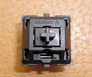 100 original Cherry MX black switches, pcb-mount, jumper, Made in Germany