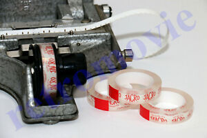 Splicing Tape For Super 8mm Cine Film - THE GENUINE & BEST - Produced by Jacro
