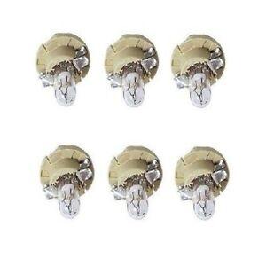 For: Mercedes R129 / W140 Set of 6 Instrument Panel Light Bulb Osram 62111391260