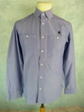 G STAR RAW Chemise Homme Taille M - Modèle CL Hazzard Shirt