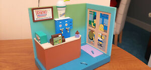 Playmates WOS The Simpsons - APU'S KWIK E MART - Interactive Environment PlaySet