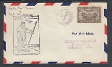 CANADA 1929 FIRST FLIGHT COVER ARCTIC RED RIVER TO FORT McMURRAY NWT AAMC #2967W