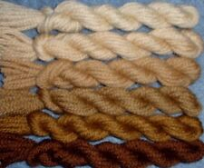 New Paternayan Wool 3ply Persian Yarn Needlepoint Crewel 440 Golden Brown Family