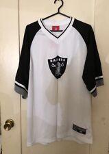 Oakland Raiders Reebok NFL XL Long Sleeve Jersey/Shirt New!