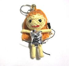 Madonna  Voodoo String Doll Keychain Ornament Accessory (Thai handmade)