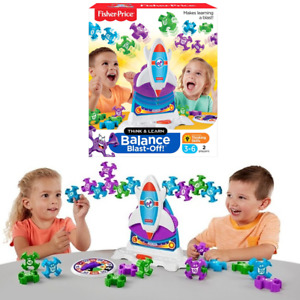 Fisher Price Balance Blast Off Educational Math Game New Kids Xmas Toy Gift 3-6Y