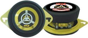 Car Two Way Speaker System - Pro 3.5 Inch 120 Watt 4 Ohm Mid Tweeter Component