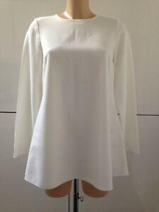 Rick Cardona Ladies Ivory Blouse tunic style top size 14