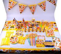 Emoji Faces Smiley Birthday Party Tableware Decorations Emoticon Plates Napkins