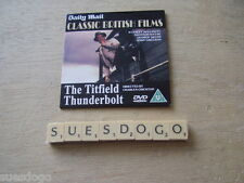THE TITFIELD THUNDERBOLT - STANLEY HOLLOWAY B/W EALING COMEDY PROMO DVD UNUSED