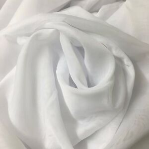 50 metre Roll Sheer Curtain Fabric x 3m Drop - Wedding Party Backdrop SUVA