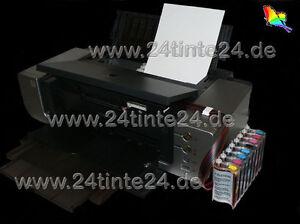CISS CIS ARC Chips Canon PIXMA Pro 9000 Pro9000  Mark II 2 CLI 8 R G Tinte ink 8