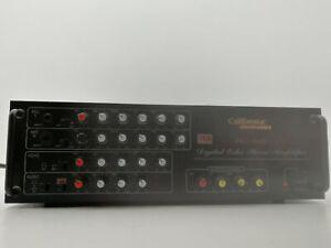 CALIFORNIA ELECTRONICS PRO-468B DIGITAL ECHO STEREO AMP  LOOSE PANEL