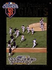 Yearbook 2011 - MLB - Baseball - SAN FRANCISCO GIANTS