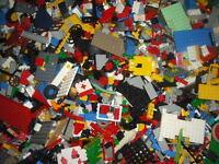 0.7kg /700g LEGO bundle random brick job lot Get minifigure (200g-LEGO Technics)
