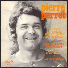 PIERRE PERRET 45T Adèle 1970 « Vive le XV » RUGGBY 45T EP 4 titres 1970