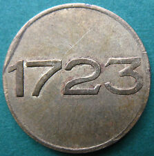 Trade token - Czechoslovakia - Old Czech Prague BK - 1723 - elevator token